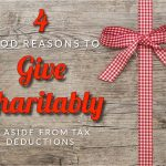 Ghani's Four Good Reasons To Give Charitably, Aside From Tax Deductions