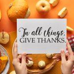 Cultivating Gratitude for Thanksgiving 2020 in Dublin